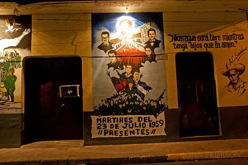 Street art in Leon