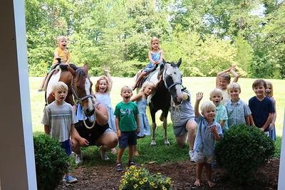 Alex's 6th birthday (Pony rides!)