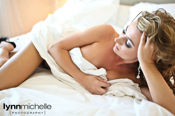 spicy boudoir photography by Lynn Michelle
