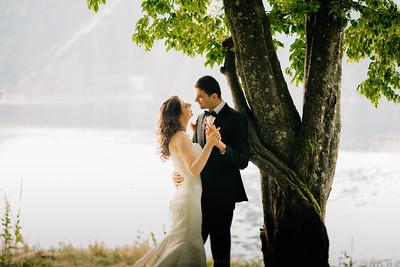 Alina si Dragos - sedinta foto dupa nunta