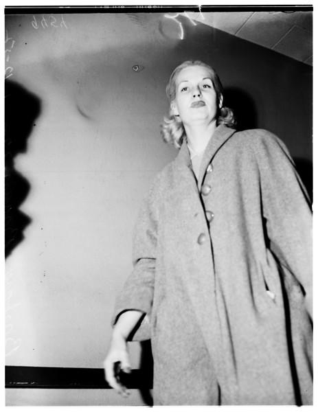 1958, Mrs. Barron Hit and Run