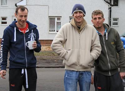 Boys  gang members