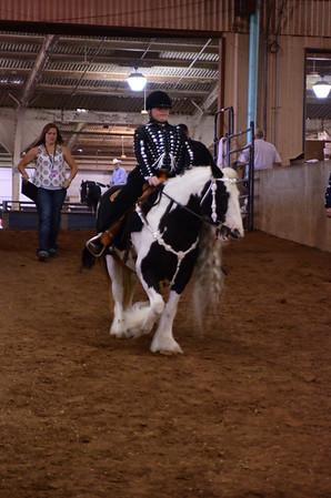 Youth under saddle