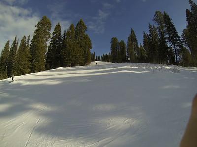 Skiing McCall Christmas 2013