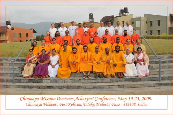 CM Acharyas Conference, Chinmaya Vibhooti May'09