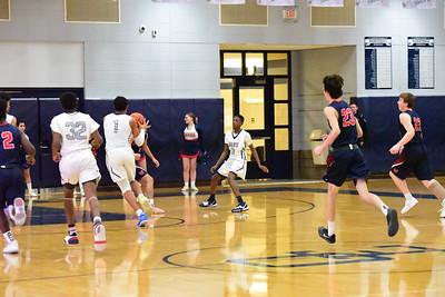 OE Soph. boys basketball Vs West Aurora 2020