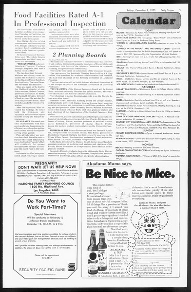 Daily Trojan, Vol. 66, No. 53, December 07, 1973