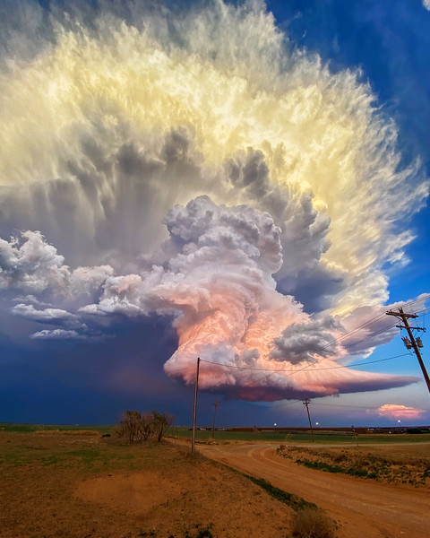 West Texas Storm - Unsigned Prints, Canvases, And More