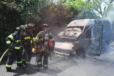 Massapequa F.D.  Van Fire  Nassau Rd.  6/21/21