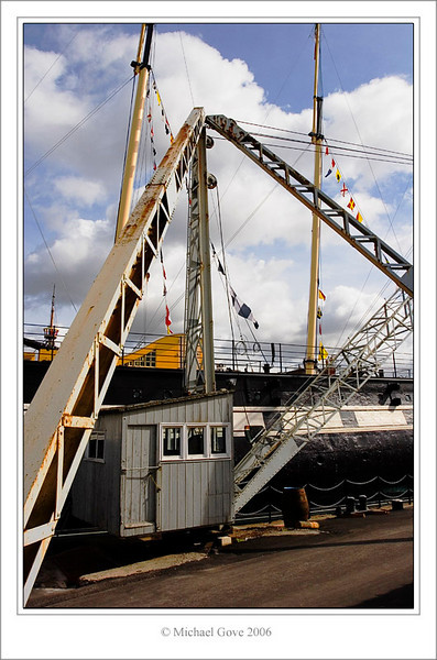 Crane beside SS Gt Britain Bristol Harbour (61696255).jpg