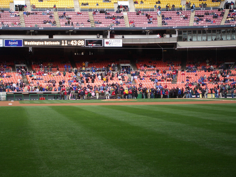 nats first exhibition game in RFK (9).jpg
