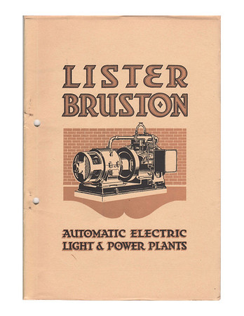 Lister-Bruston Documents