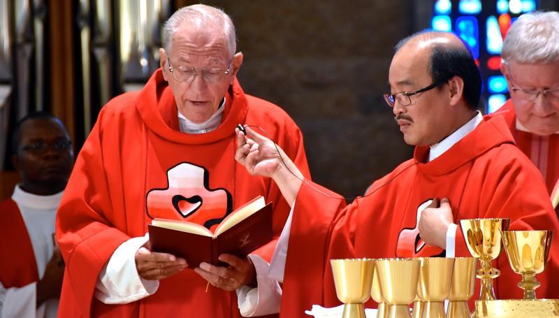 Fr. Richard, Fr. Quang