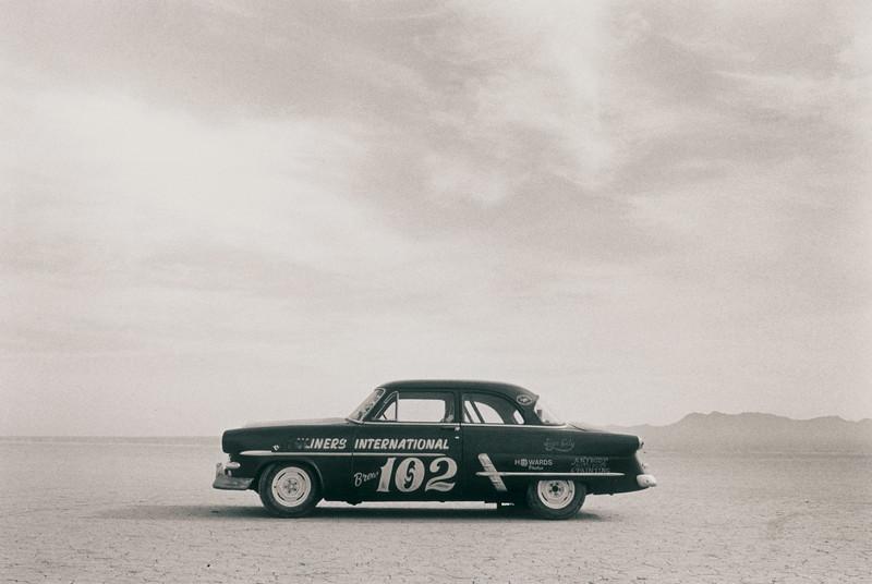 Land speed racing at El Mirage
