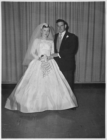 1957 10 Betty Ann & Harold's Weddning