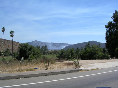 Bandy Canyon Fire - September 6th 2004