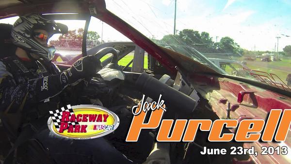 Jack Purcell Video-Raceway Park, June 23rd, 2013