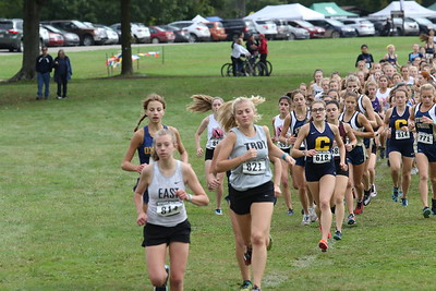 Girls JV - 2019 Oakland County H.S. XC Championships