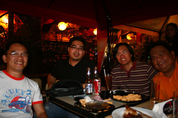 1920 bar with UST boys