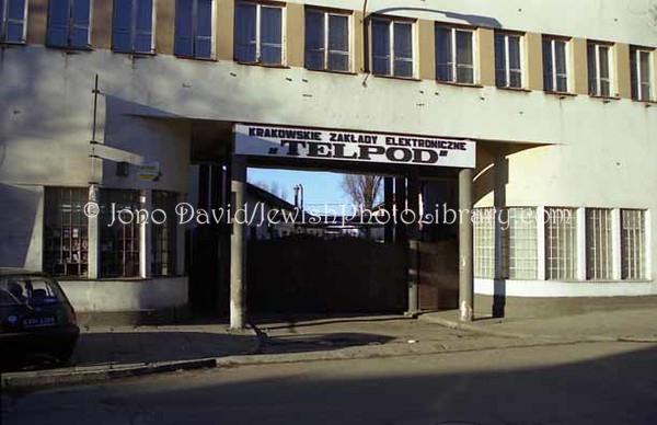 POLAND, Krakov. Oscar Schindler's factory. (1998)