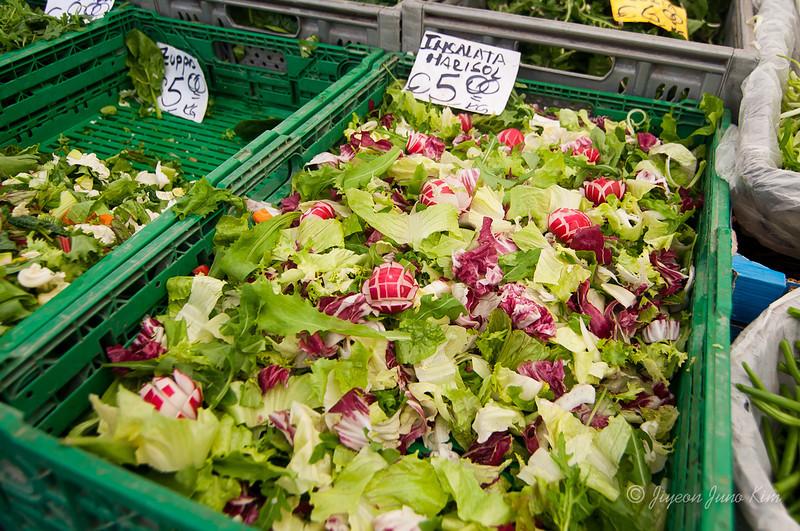 Salad to go at Campo dei Fiori