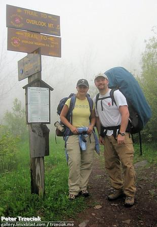 Catskill Hike - May 2003