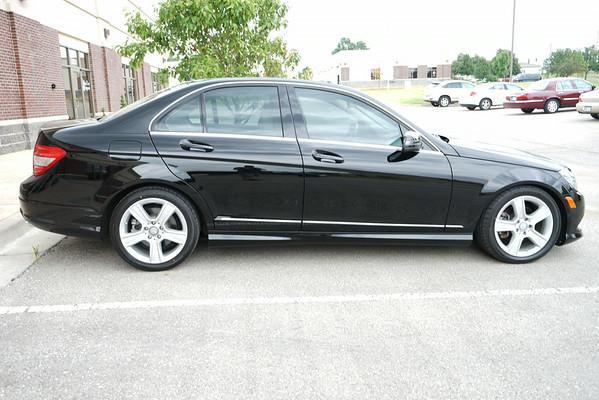2011 Mercedes Benz C350 Tint