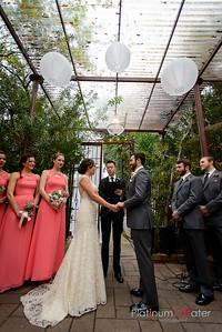 Laura and Stuart Wedding -- Avant Garden, Houston, TX