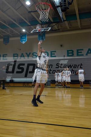 Bayside vs Vero Beach Boys Basket Ball F,JV,V 11-29-18