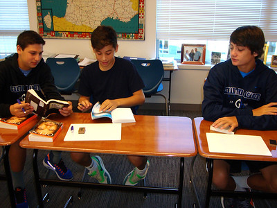Upper School Reading Day