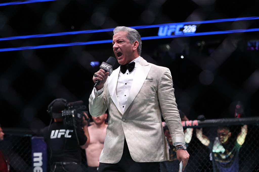 . Tim Phillis - The News-Herald UFC 226 on July 7, 2018, in Las Vegas.