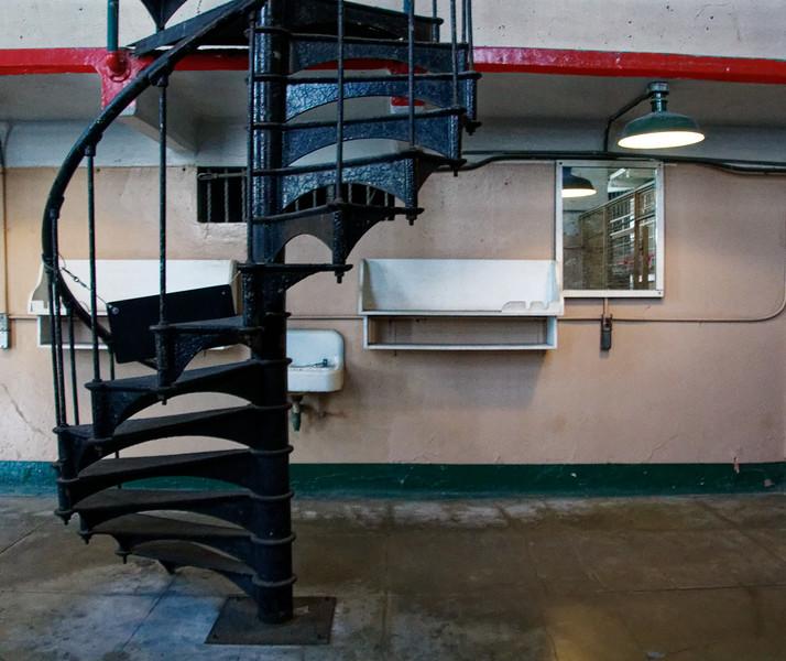 Spiral Staircase in Alcatrez