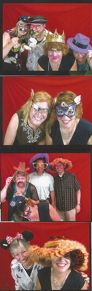 Photo Booth Fun at Drew & Mel's Ohio Wedding Reception - August 18, 2016