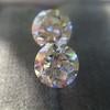 2.88ctw Old European Cut Diamond Pair, GIA I/VVS2 &  GIA H VS1 0