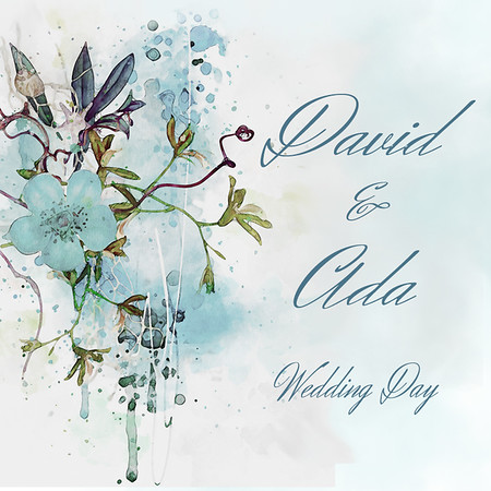 David & Ada Wedding Day