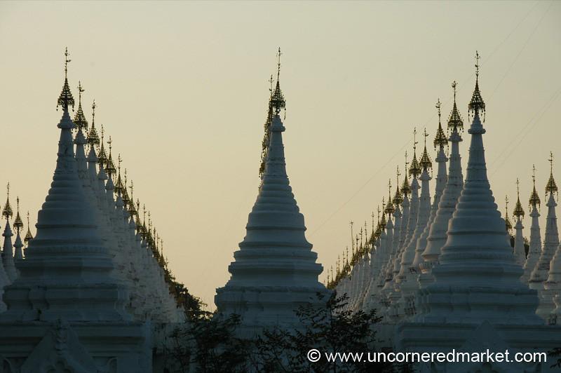 Sandamani Pagoda at Sunset - Mandalay, Burma