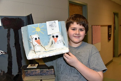 Fisher Fifth Grade Owl Project photos by Gary Baker