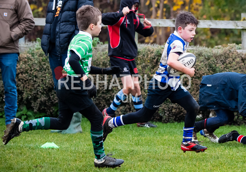 Under 10s tournament, Franklin's Gardens, 17 November 2019