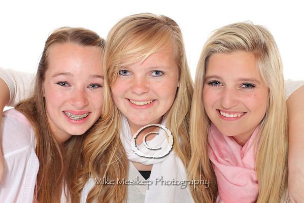 Jenna, Erika and Marley