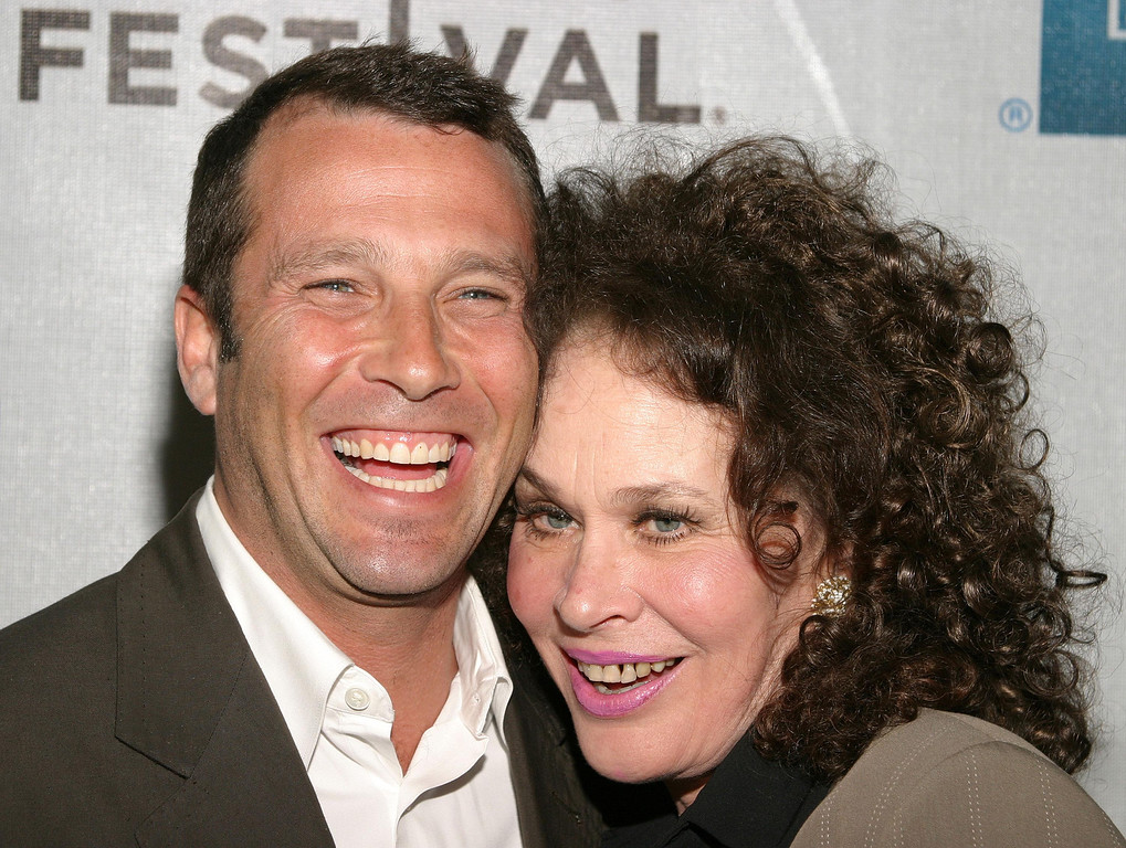 """. NEW YORK - MAY 5:  Writer/director Paul Black (L) and actress Karen Black attend the world premiere of the \""""America Brown\"""" screening during the Tribeca Film Festival May 5, 2004 in New York City. (Photo by Thos Robinson/Getty Images)"""