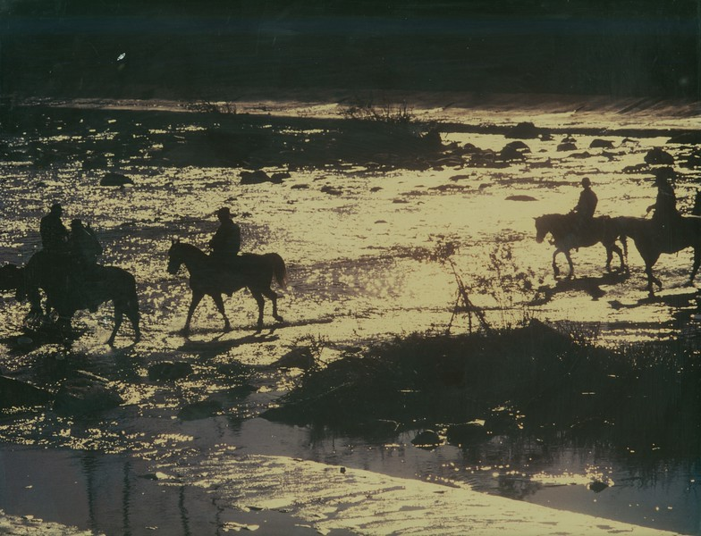 Horseback River Fording