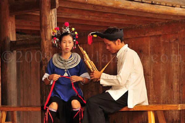 SANJIANG DONG MINORITY 三江侗族人民