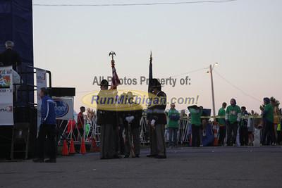 Start of Race - 2012 Brooksie Way Half Marathon