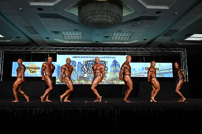 Men's Bodybuilding Masters 50+ Overall