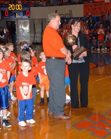 Marshall County Little Dribblers - Grades 1 & 2  -  January 23, 2007