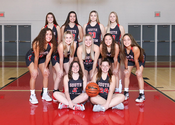 SNHS Girls Basketball Team 2020