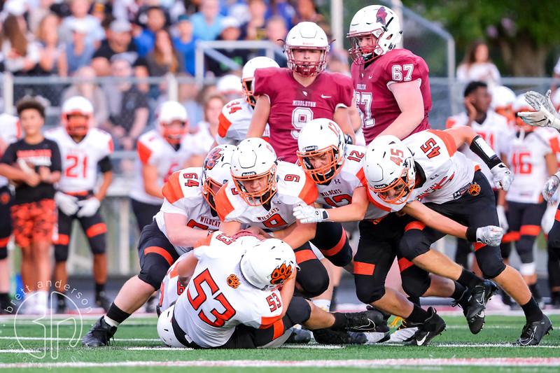 Verona Wildcats at Middleton Cardinals