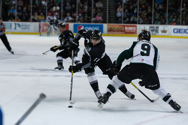 Idaho Steelheads vs Utah Grizzlies - 02.03.2017
