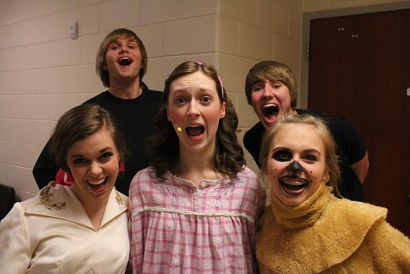 Backstage Fun at Peter Pan - 3/25/15
