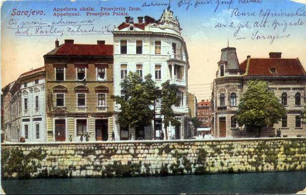 Apelova obala i Prosvjetin dom - 1913.